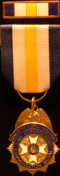 sons of the american revolution citation law enforcement commendation medal
