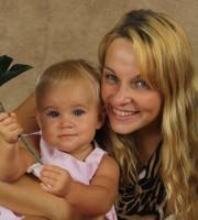 Sophia Zhudro and her daughter. (Sophia Zhudro)