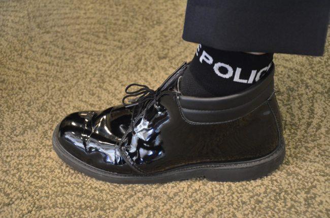 doughney socks police