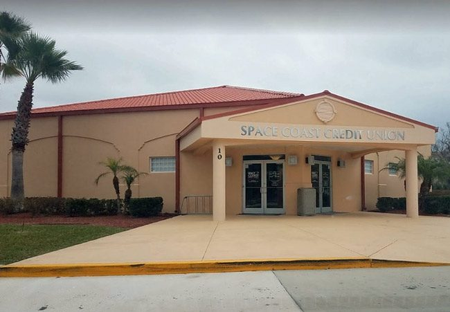 The Space Coast Credit Union branch on Lupi Court in Palm Coast was robbed this morning.