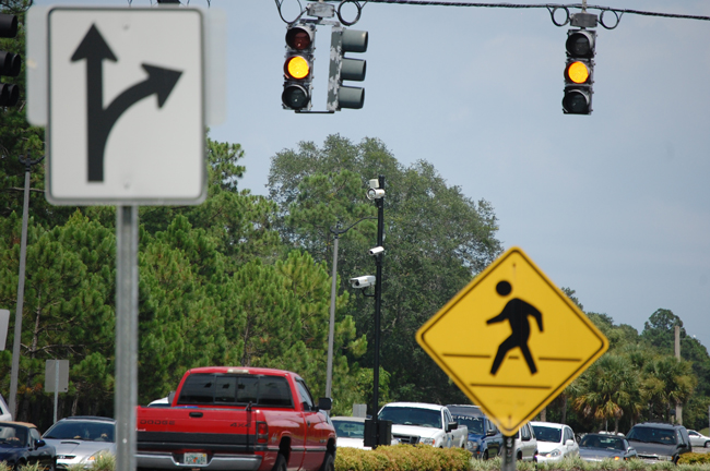 red light cameras palm coast