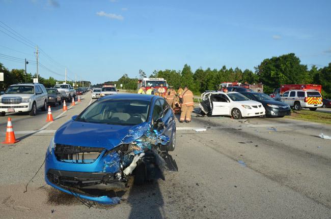 state road 100 wrecks