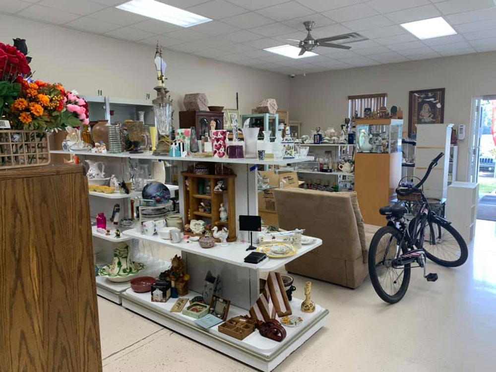 St. Mary's Thrift Store in Korona raises money for church functions and for the needy. (Facebook)