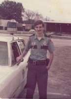 Staly was 18 when he first became a cop, in Oviedo, where he worked three years before moving on to the Orange County Sheriff's Office. Click on the image for larger view. (Courtesy of Rick Staly)