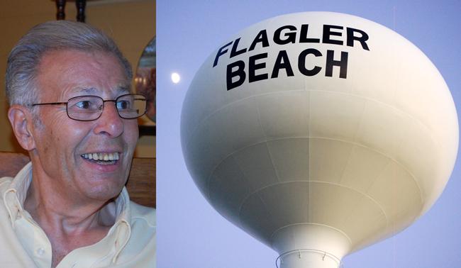 stan drescher and the flagler beach water tower