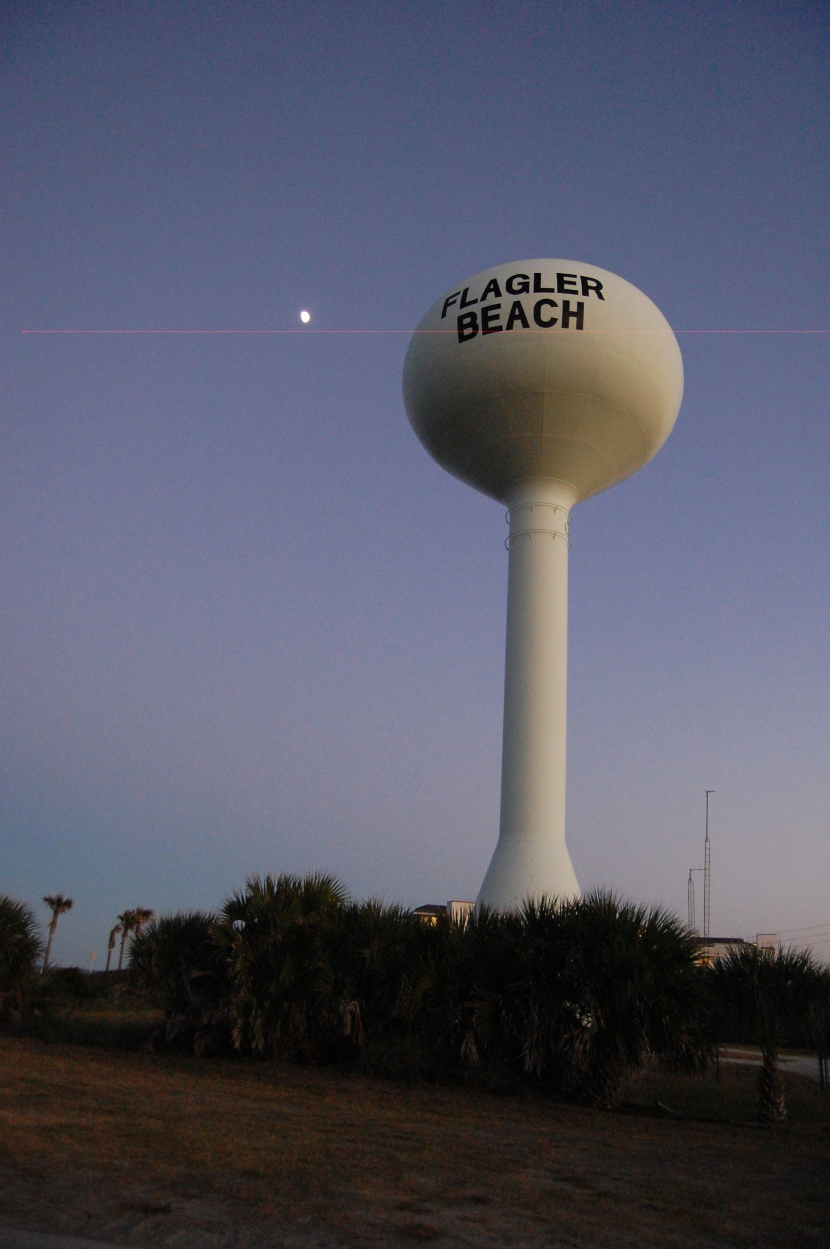 stanley drescher flagler beach water tower