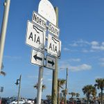 A storied road even before it was known as A1A, the oceanshore stretch from St. Johns through Flagler County is now an All-American Road, only the second such designation of a road in Florida. (© FlaglerLive)