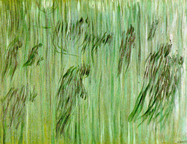 Umberto Boccioni's 'State of Mind: Those Who Stay,' study (1911).