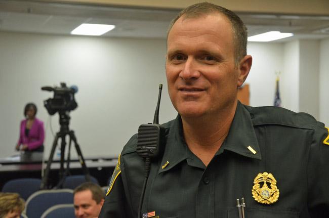 Lt. Steve Cole (© FlaglerLive)