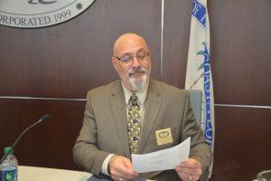 Palm Coast City Councilman Steven Nobile re-imagines a blueprint for the city. (© FlaglerLive)