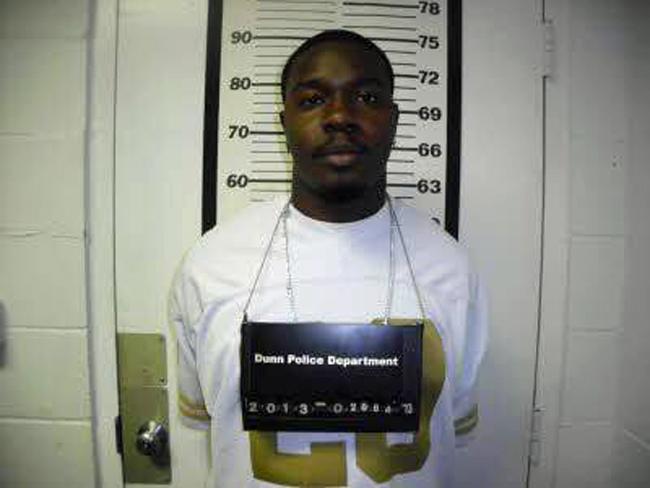 Glen Alen Stewart's mug shot from the Dunn Police Department.