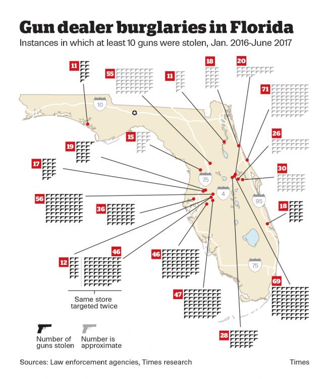 stolen guns map