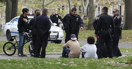 With stop and frisk, it's hard to tell the goons from the good guys.