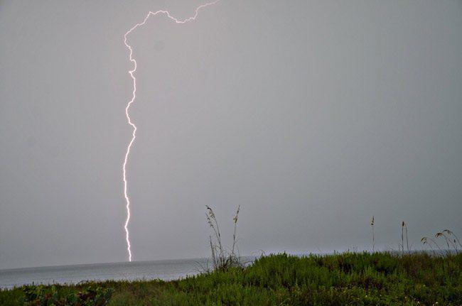 Storms over Flagler. (© FlaglerLive)