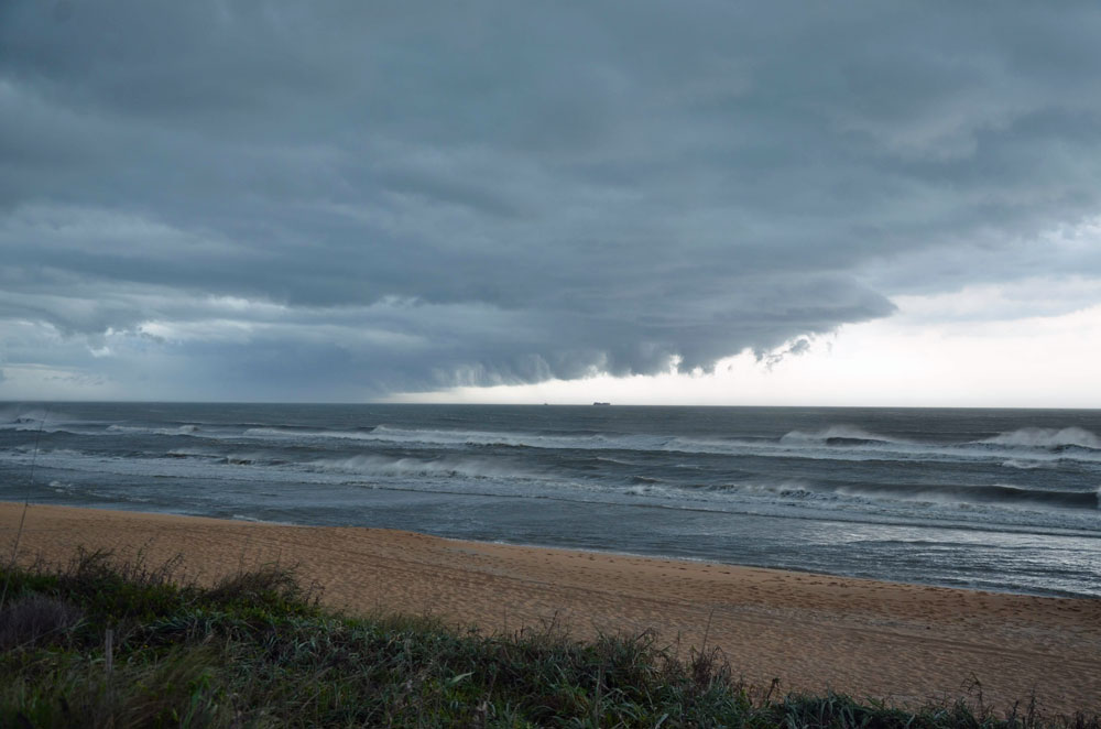 The more sterious storms stayed away from Flagler County and its fragile shoreline this year. (© FlaglerLive)