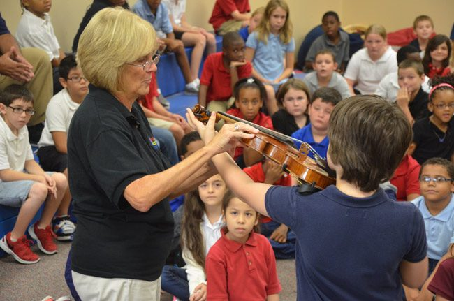 flagler youth orchestra recruisitng