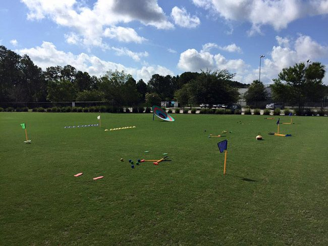 The allegations involved enrollment fees meant for Palm Harbor Golf Club's youth summer golf camp, above. (Facebook)