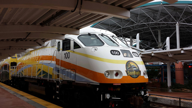 Central Florida finally has its first commuter rail line. (SunRail)