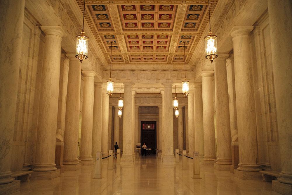 The Supreme Court lobby. (R. Boed)