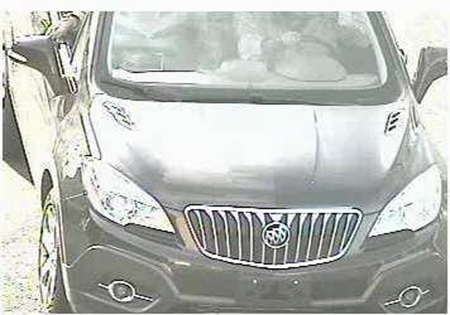 wells fargo robbery suspect's vehicle