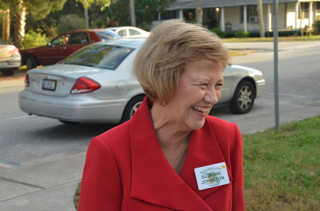 Flagler County Tax Collector Suzanne Johnston. (© FlaglerLive)