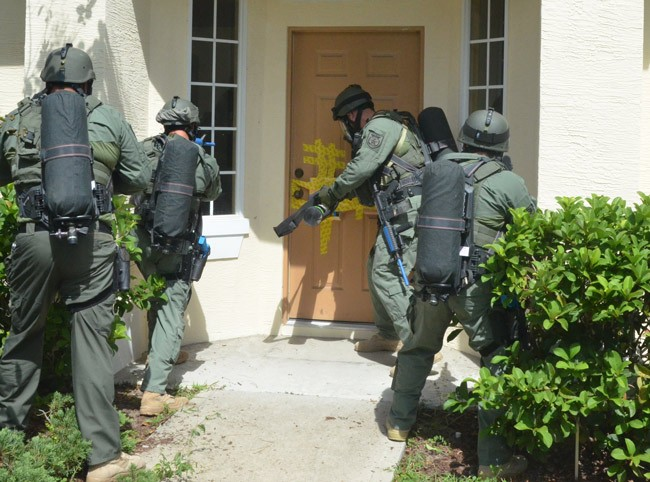swatting palm coast SWAT