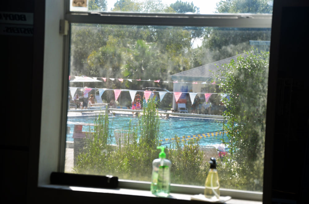 The window to find a way forward for the Belle Terre Swim and Racquet Club, at least in its present form and with its current funding model, appears to be closing. (© FlaglerLive)