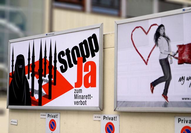minarets switzerland referendum islamophobia
