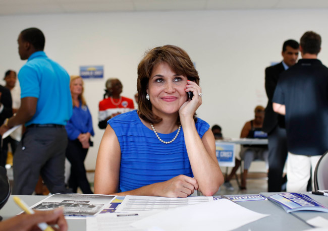 Hispanic, Jewish and a working mom: Annette Taddeo.