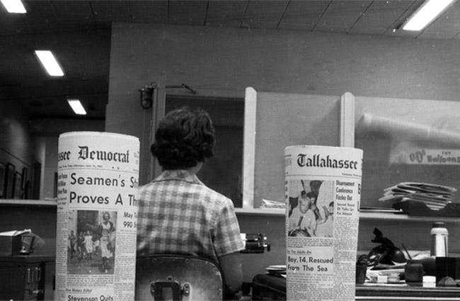 tallahasee democrat newsroom historic