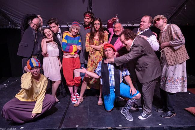 The cast of 'Taming of the Shrew,' to be performed tonight through Sunday at the Palm Coast Arts Foundation's Town Center venue. (Mike Kitaif)