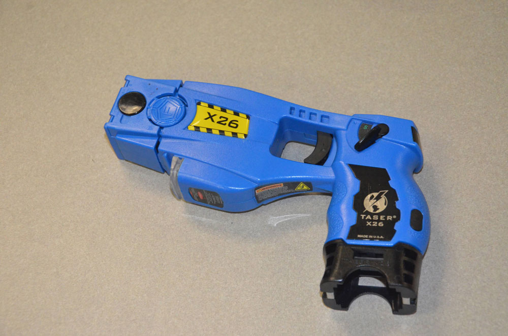 The Taser model Flagler County Sheriff's deputies carry. (© FlaglerLive)