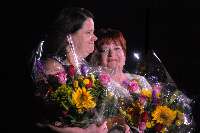 agatha lee and margaret carcagente of belle terre elementary school flagler county teacher and employee of the year 2011