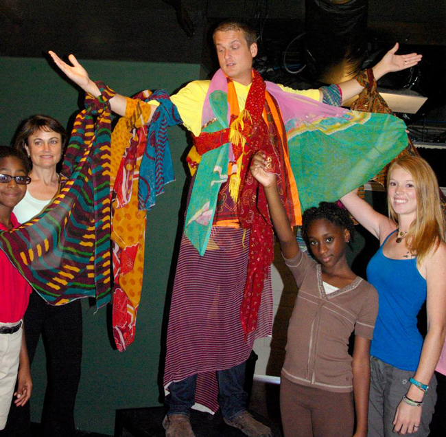 The cast  'Joseph and the Amazing Technicolor Dreamcoat,' led by Brett Cunningham, opens Thursday at Palm Coast's City Repertory Theatre, and held a special sneak performance Monday at the Flagler Auditorium.
