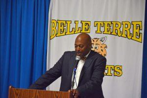Belle Terre Elementary Principal Terence Culver. (© FlaglerLive)