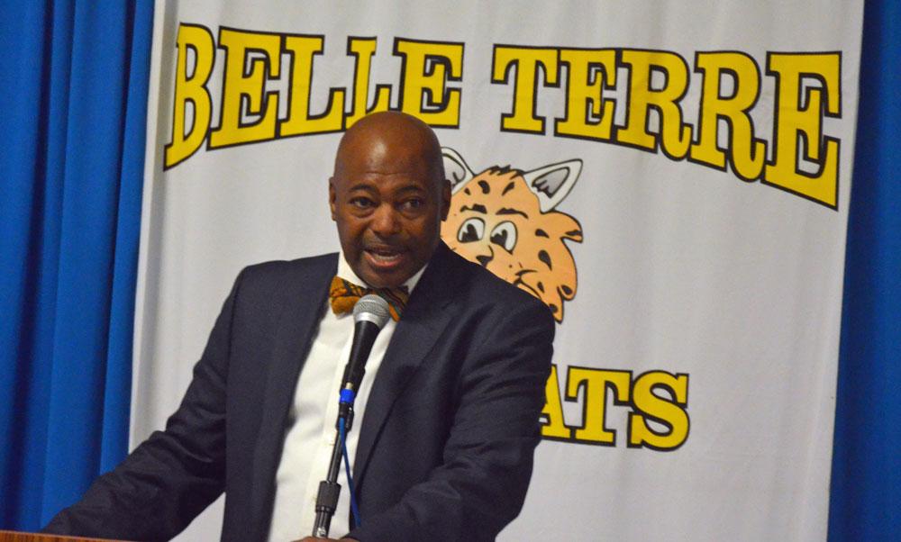 Belle Terre Elementary Principal Terence S. Culver. (© FlaglerLive)