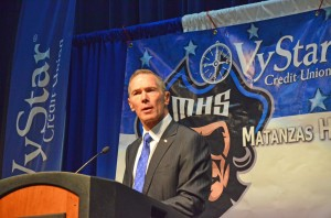 VyStar President and CEO Terry West. Click on the image for larger view. (© FlaglerLive)
