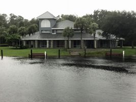 The former Yacht Club at the Long Creek Preserve. Click on the image for larger view. (Jeff Morton for FlaglerLive)