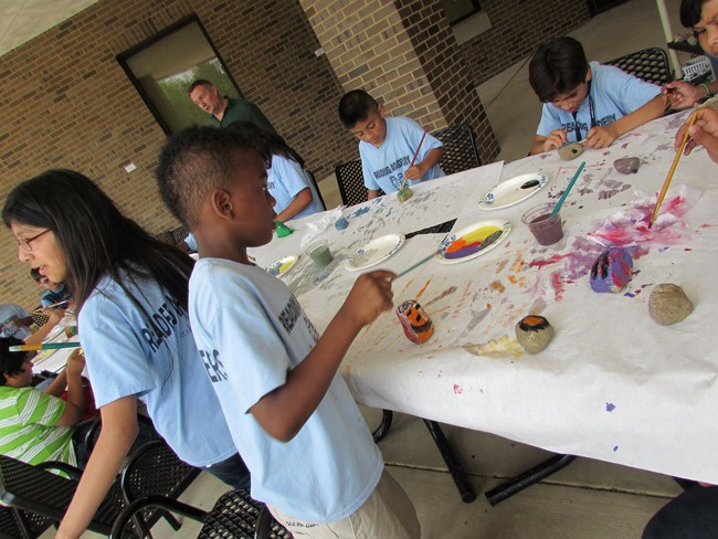 What benefits third graders more than tests.  (mosaic36)