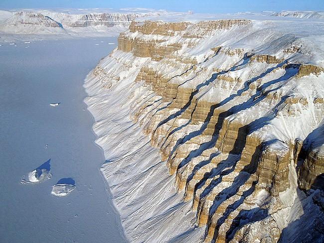 Visions of Thule, Greeland. (NASA Goddard Space Flight Center)