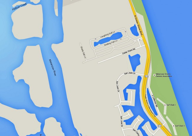 The wreck took place just south of Cedar Point Road at 3:20 a.m. Saturday. click on the map for larger view.