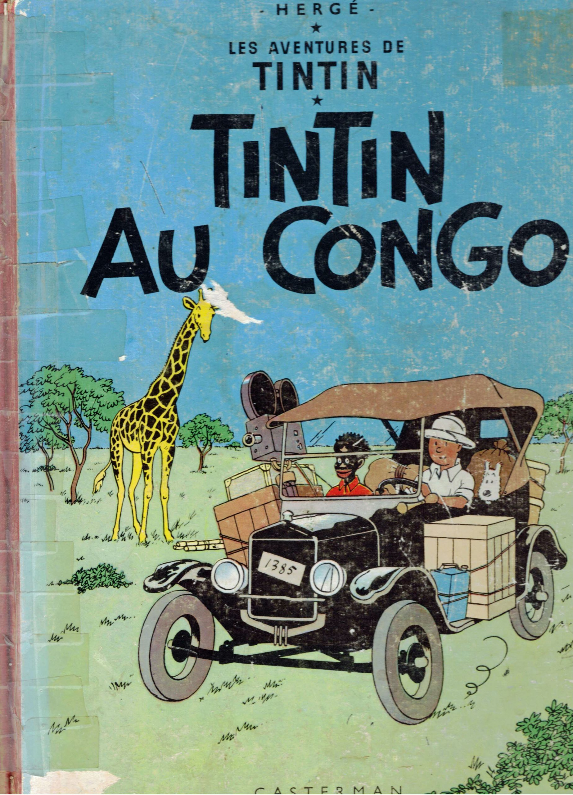 """""""Tintin in the Congo"""" was Hergé's second published book in the Tintin series, serialized first in 1930 and 1931 in a reactionary Catholic Belgian newspaper as a means of propagandizing Belgian colonization of the Congo to young children. The book is a series of stereotyped and often offensive portrayals of Black Africans."""