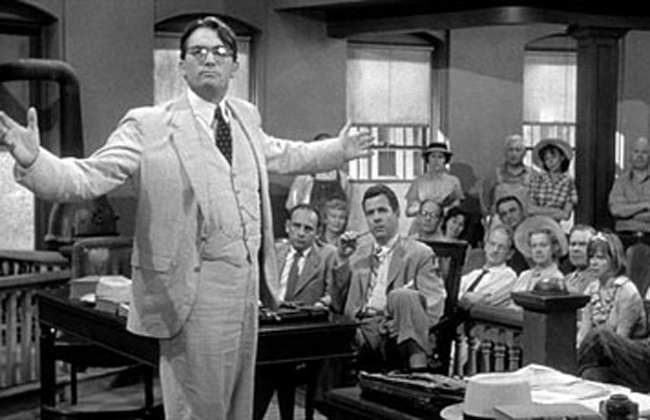 To kill a mockingbird atticus in court - photo#15