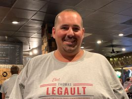 Tommy LeGault is running for a Flagler County Commission seat. (© FlaglerLive)
