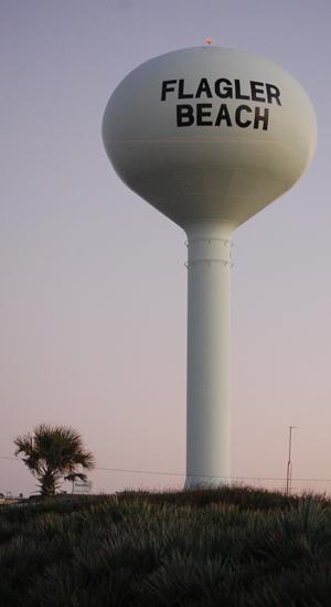 flagler beach water tower