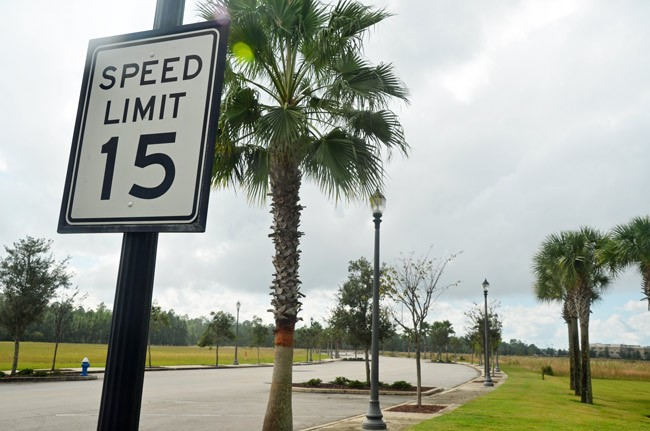 town center speed limits