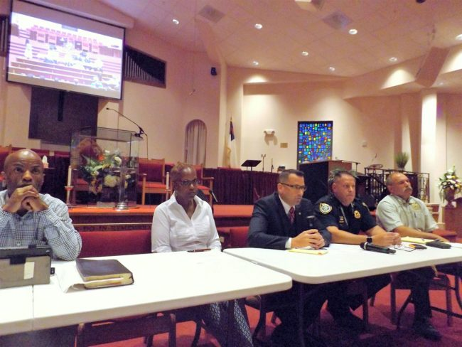 panelists naacp town hall on violence