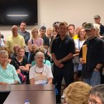 An earlier application by The Gardens drew standing-room-only opposition when it was considered by the county's usually somnolent Technical Review Committee last July. Wednesday's meeting is expected to draw a crowd, but mostly through zoom. (© FlaglerLive)