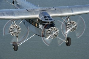 The Ford Tri-Motor. Click on the image for larger view.