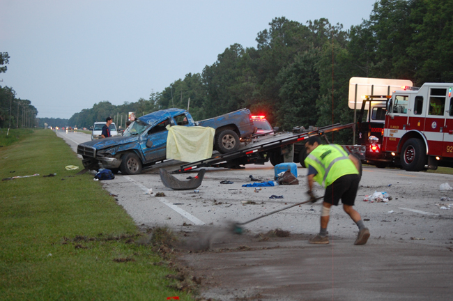 """Old Lifted Trucks >> 2 Women, 21 and 19, Killed in Single-Truck Flip on US 1's """"Triple-A Curve,"""" 18 Year Old Injured ..."""